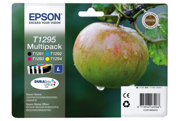 סט ראשי דיו  אפסון מקורי צבעוני   TN1291-4