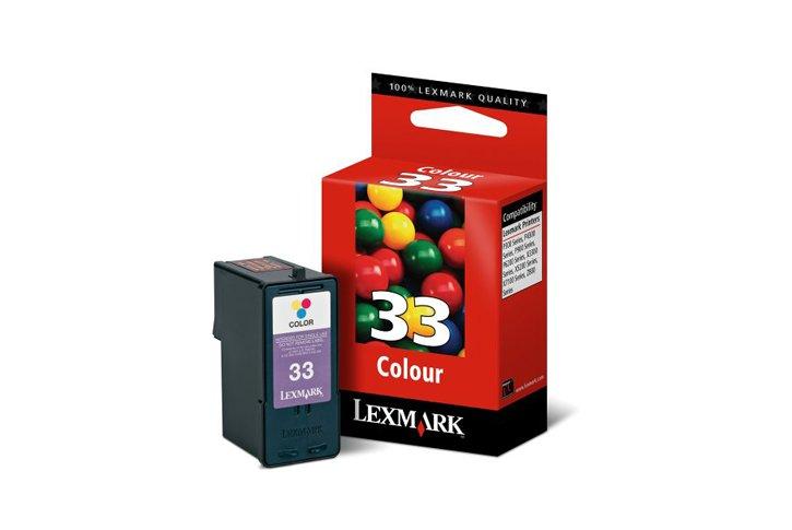 ראש דיו צבעוני מקורי (33) Lexmark 18C0033