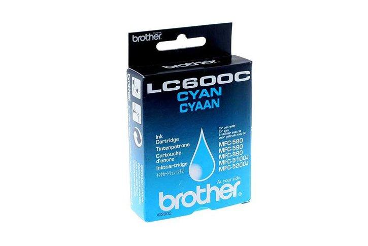 מיכל דיו מקורי ציאן BROTHER LC600C