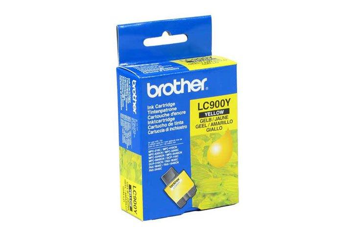 מיכל דיו מקורי צהוב BROTHER LC900Y