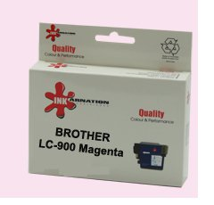 ראש דיו מגנטה תואם Brother LC-900M