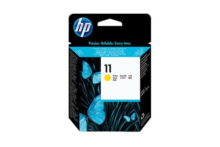ראש הדפסה מקורי צהוב (11)-HP C4813A