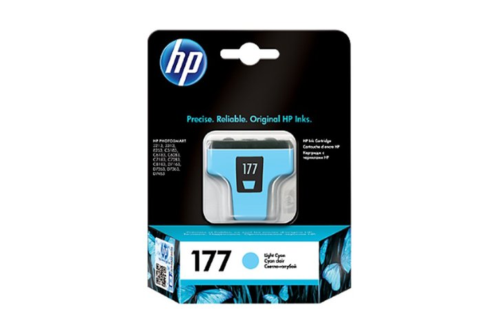 ראש דיו ציאן לייט מקורי HP C8774HE-177
