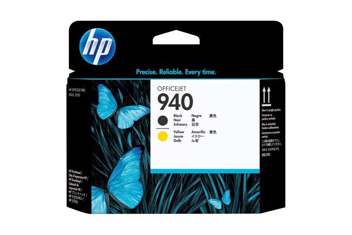 ראש הדפסה מקורי שחור וצהוב (HP C4900A (940