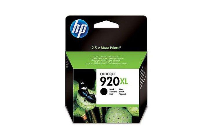 ראש דיו שחור מקורי HP 920XL CD975AE