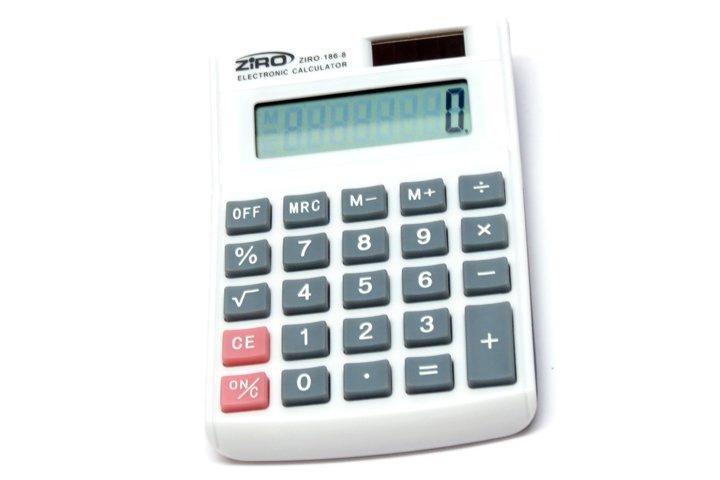 מחשבון שולחני זיירו BT186-8