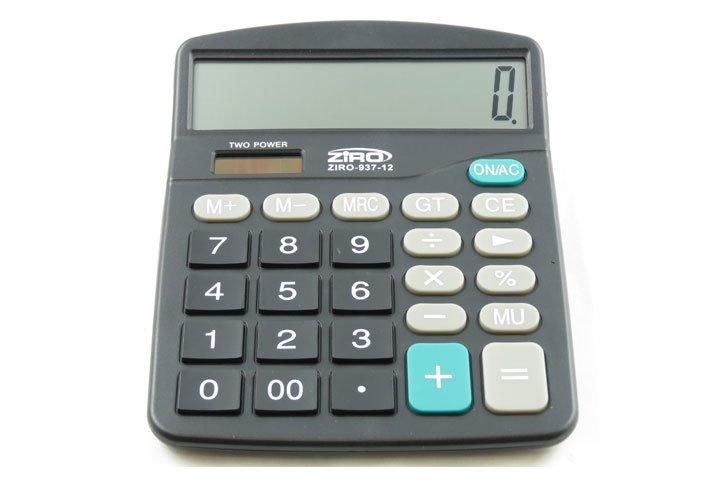 מחשבון שולחני זיירו BT937-12