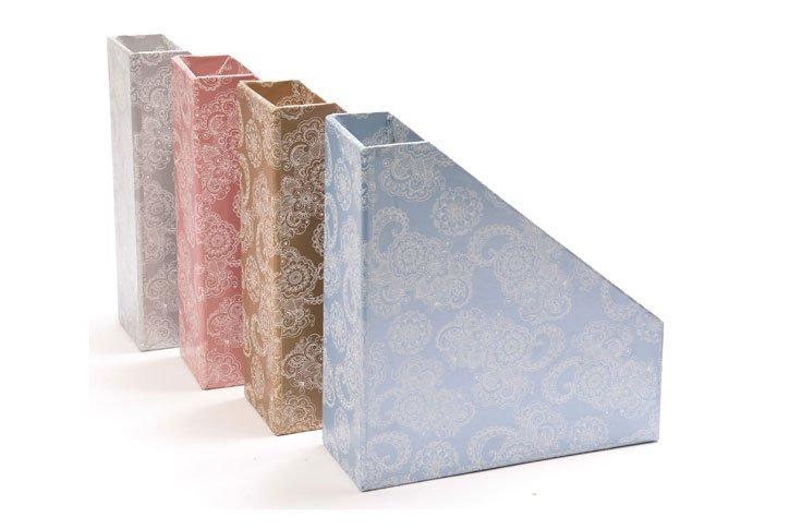 קופסא קטלוג מעוצבת מטאלי