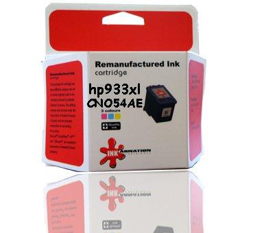 CN054AE HP 933XL ראש דיו תואם  ציאן