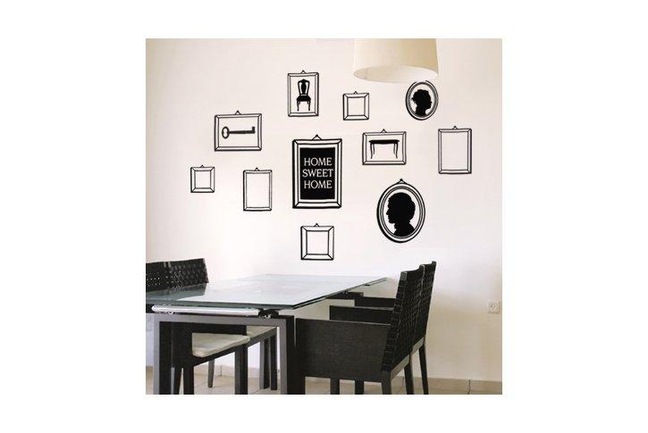 מדבקת קיר - Frames