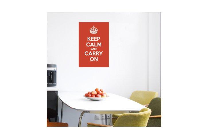 מדבקת קיר -Keep calm