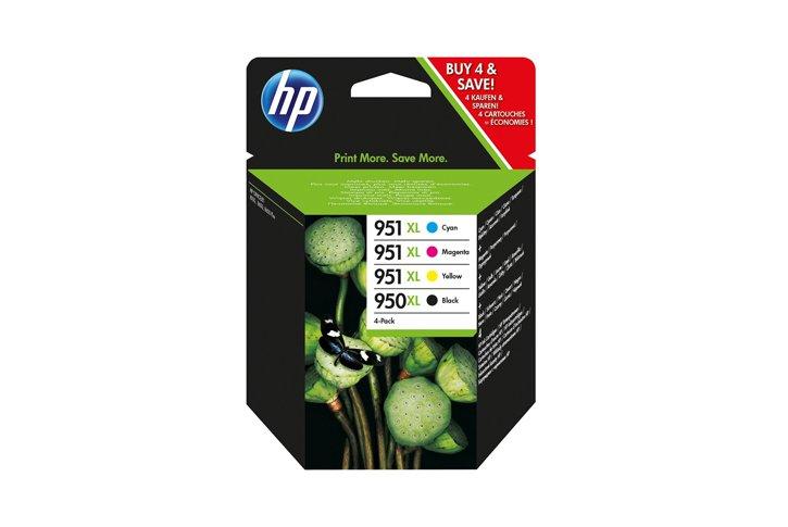 סט ראשי דיו מקוריים שחור ו-3 צבעים (HP CN045-8A (950XL+951XL