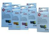 סט חמישה ראשים חליפי כולל צ`יפ  PG525BK +CLI526C/M/Y/BK