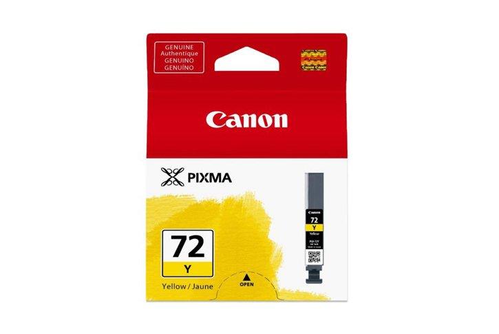 ראש דיו מקורי קנון צהוב CANON PGI-72Y