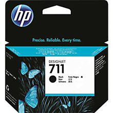 ראש דיו שחור מקורי (HP 711 80-ml(CZ133A