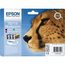 סט ראשי דיו מקוריים EPSON T7011-2-3-4