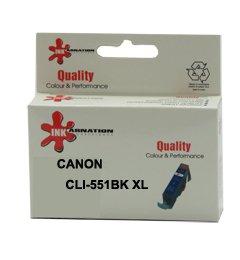 ראש דיו גדול תואם שחור CANON CLI-551BK XL