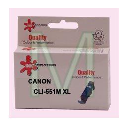 ראש דיו גדול תואם מגנטה CANON CLI-551M XL
