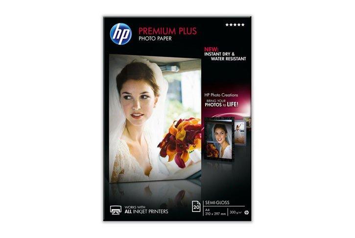 נייר פוטו סמי-גלוסי HP - עובי 300 גרם CR673A