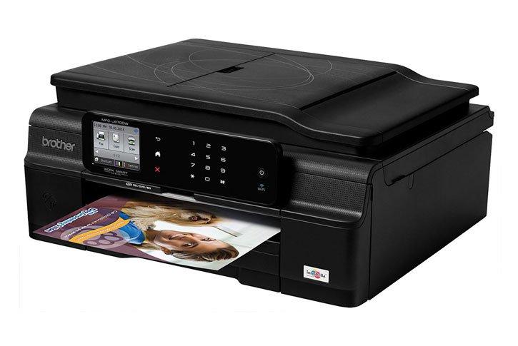 מדפסת משולבת הזרקת דיו Brother MFC-J870DW