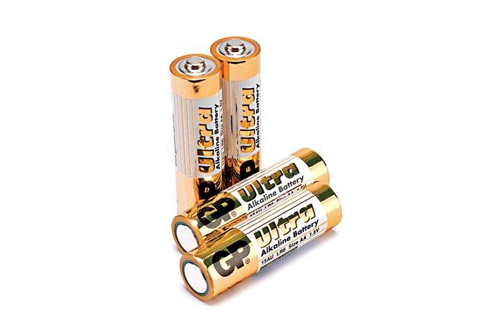 סט 4 סוללות אלקליין  AA-GP  ארוז רביעיה בשרינק