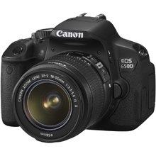 מצלמה דיגיטלית קנון DSLR EOS650D אחריות קרט
