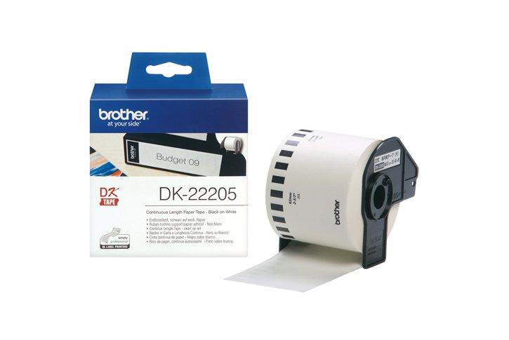 מדבקות נייר ואביזרים לסידרת ברדר QL550 -   DK-22205
