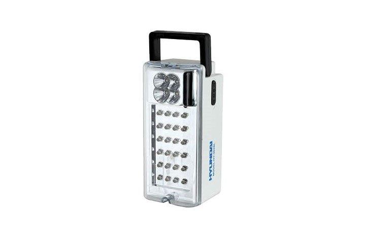 פנס לד נטען - HYUNDAI HY-3028L משמש כתאורת חירום