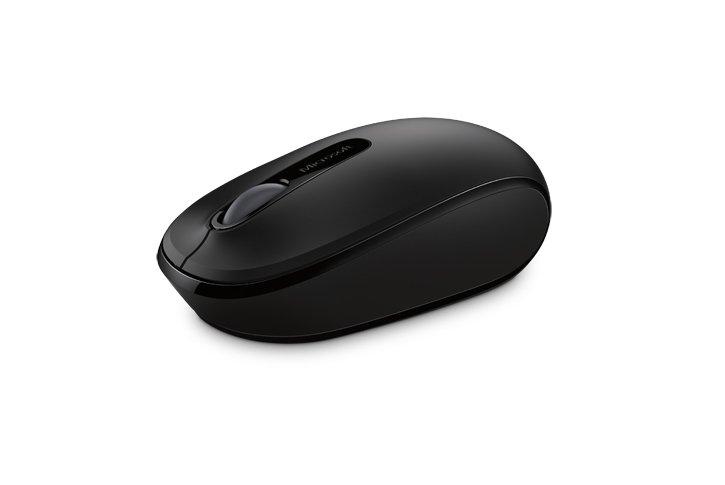 עכבר אלחוטי -Microsoft  Wireless Mobile Mouse 1850 שחור