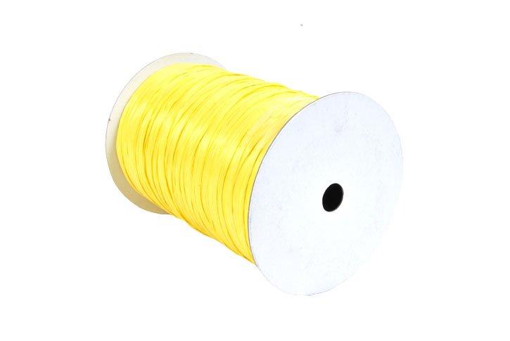 גליל רפיה צבעונית-צהוב