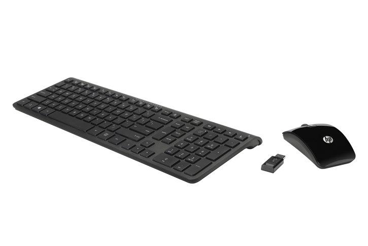 סט אלחוטי HP C6010 Wireless Keyboard Combo-H6R55AA