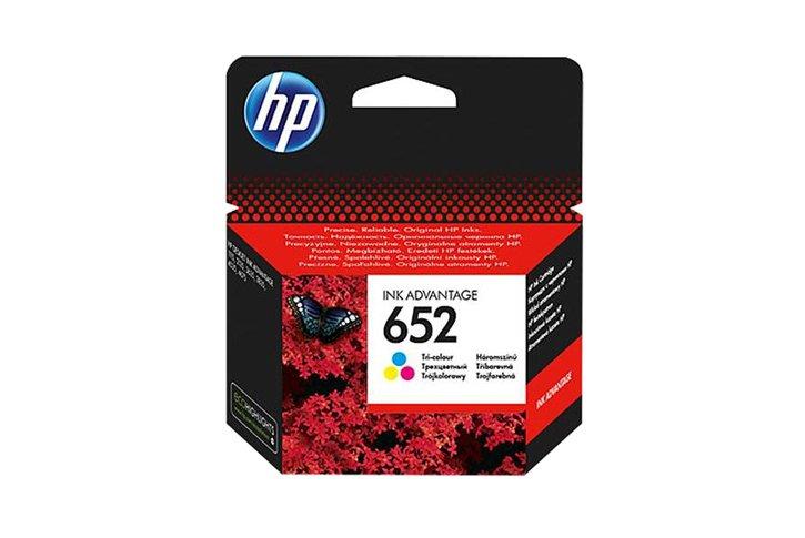 ראש דיו צבעוני מקורי (HP F6V24AE (652