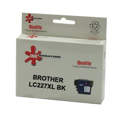 ראש דיו תואם שחור BROTHER LC227XLBK