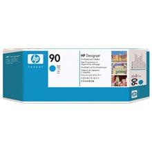 דיו למדפסת HP C5055A- Cyan(90) Printhead and Printhead Cleaner