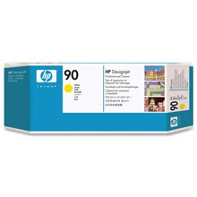 דיו למדפסת HP C5057A- Yellow (90) Printhead and Printhead Cleaner