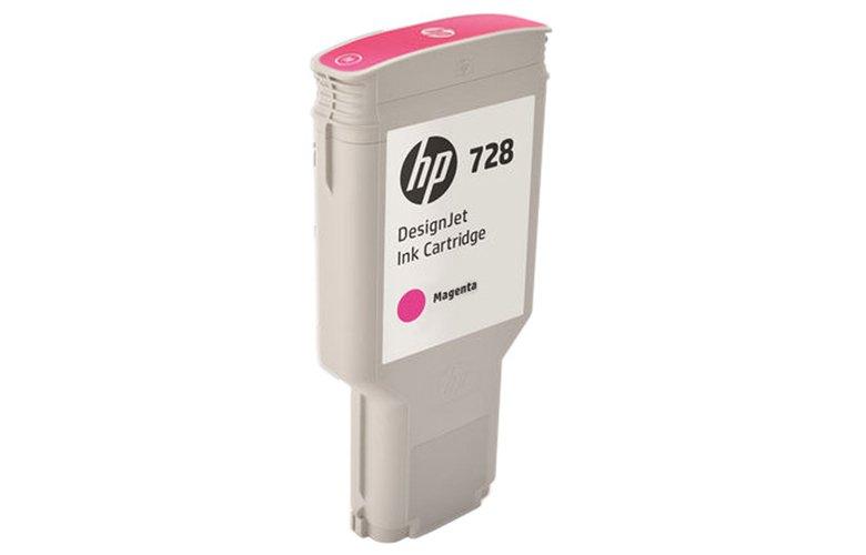 דיו למדפסת (HP 728 300-ml Magenta DesignJet (F9K16A