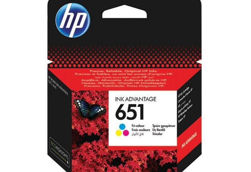 ראש דיו צבעוני מקורי (HP C2P11A (651