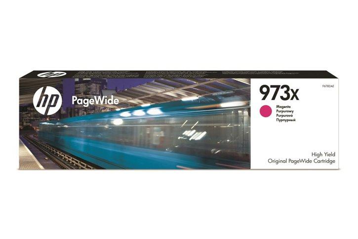 ראש דיו מגנטה מקורי HP 973XL F6T82AE