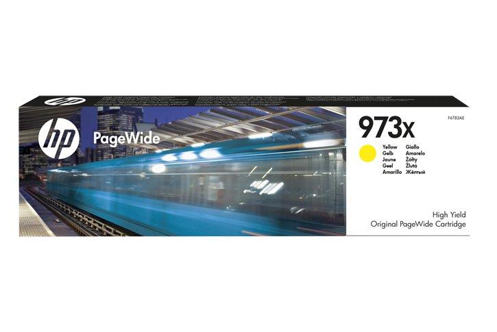 ראש דיו צהוב מקורי HP 973XL F6T83AE