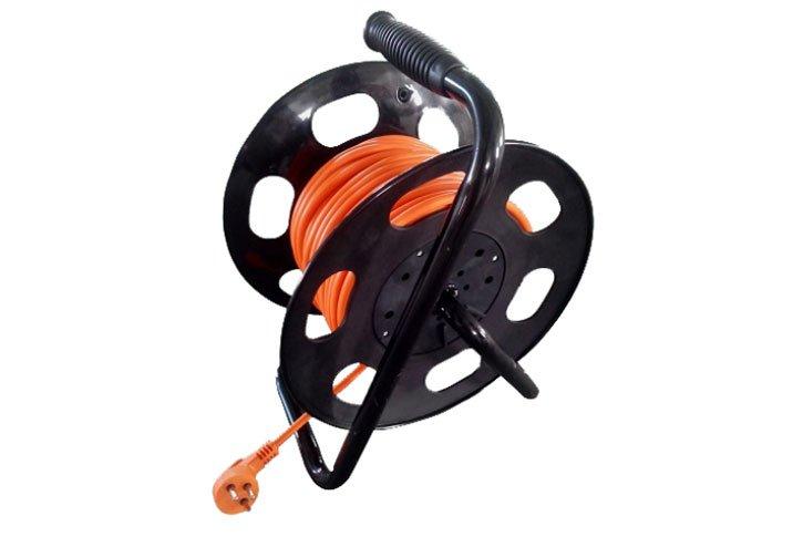 תוף עם כבל מאריך לחשמל 50 מטר – 4 שקעים