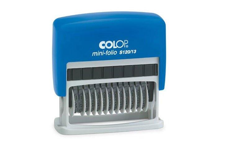 חותמת מספרון COLOP Printer S120/13