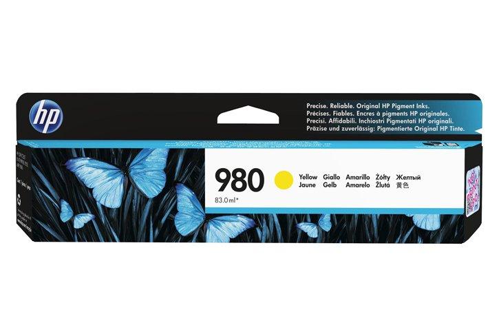 ראש דיו צהוב מקורי (HP 980(D8J09A