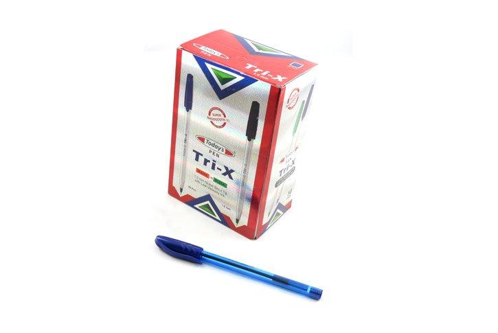 עט חד פעמי כדורי 1.0 -TRI X COLOR -TODAY`S