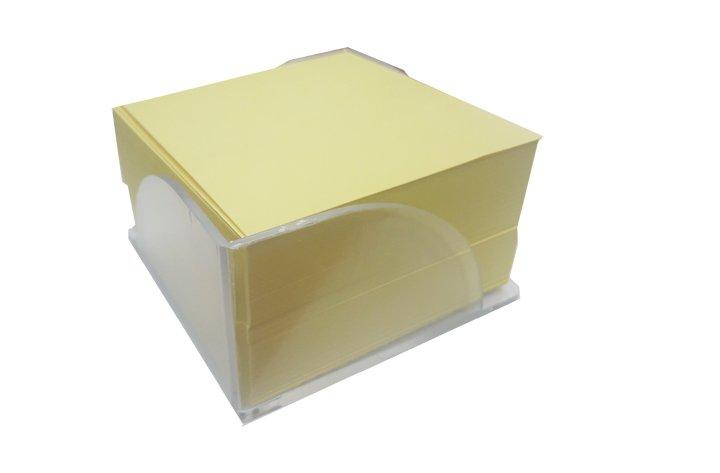 מתקן עם קוביית ממו מילוי בריסטול צהוב בננה גובה  5 ס``מ
