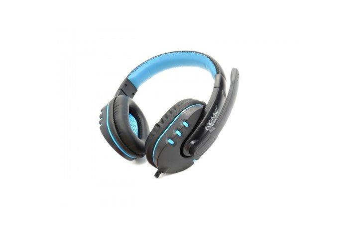 אוזניות עם מיקרופון בחיבור USB KOMC B21