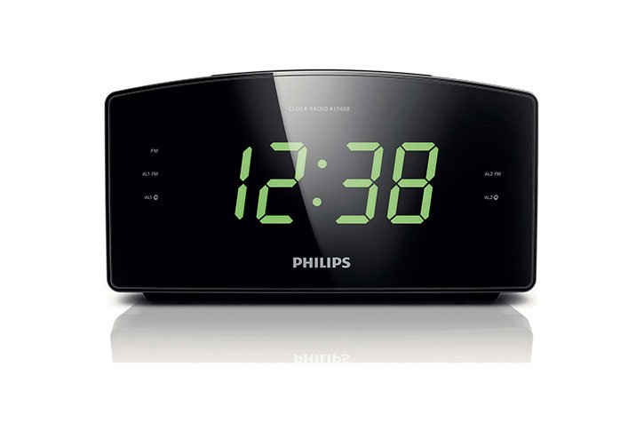 רדיו שעון מעורר Philips AJ3400