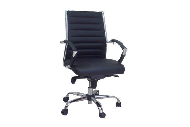 כסא מנהלים יוקרתי דגם שי , גב בינוני