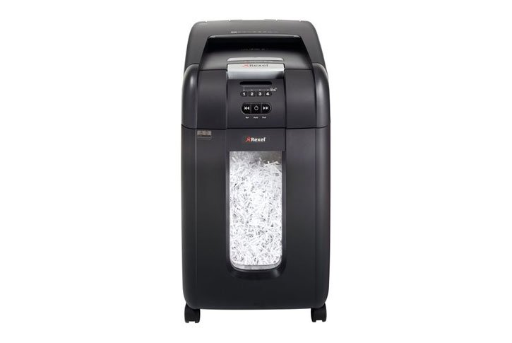 מגרסת נייר 40 ליטר Rexel AUTO+300X