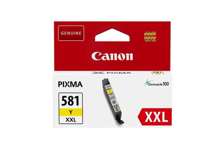 ראש דיו גדול מקורי קנון צהוב CANON CLI581Y XXL
