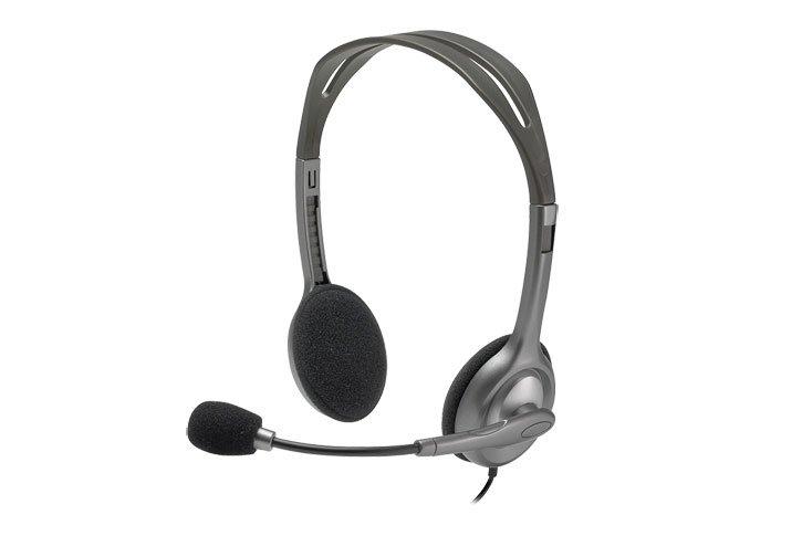 אוזניות חוטיות LogiTech H111